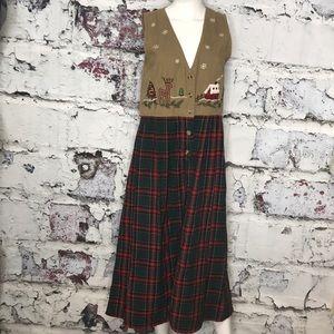 Ugly Christmas DRESS! Awesome size M